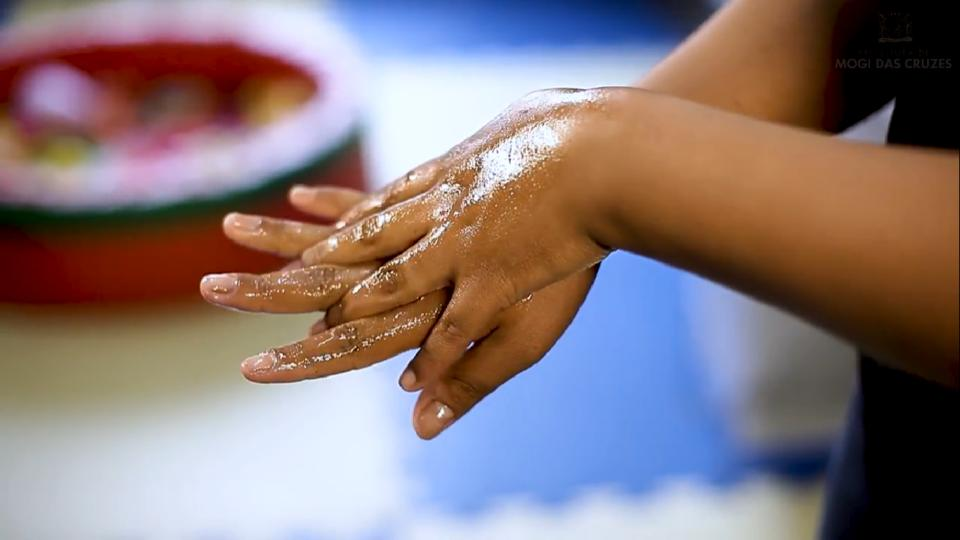 Higienização das mãos